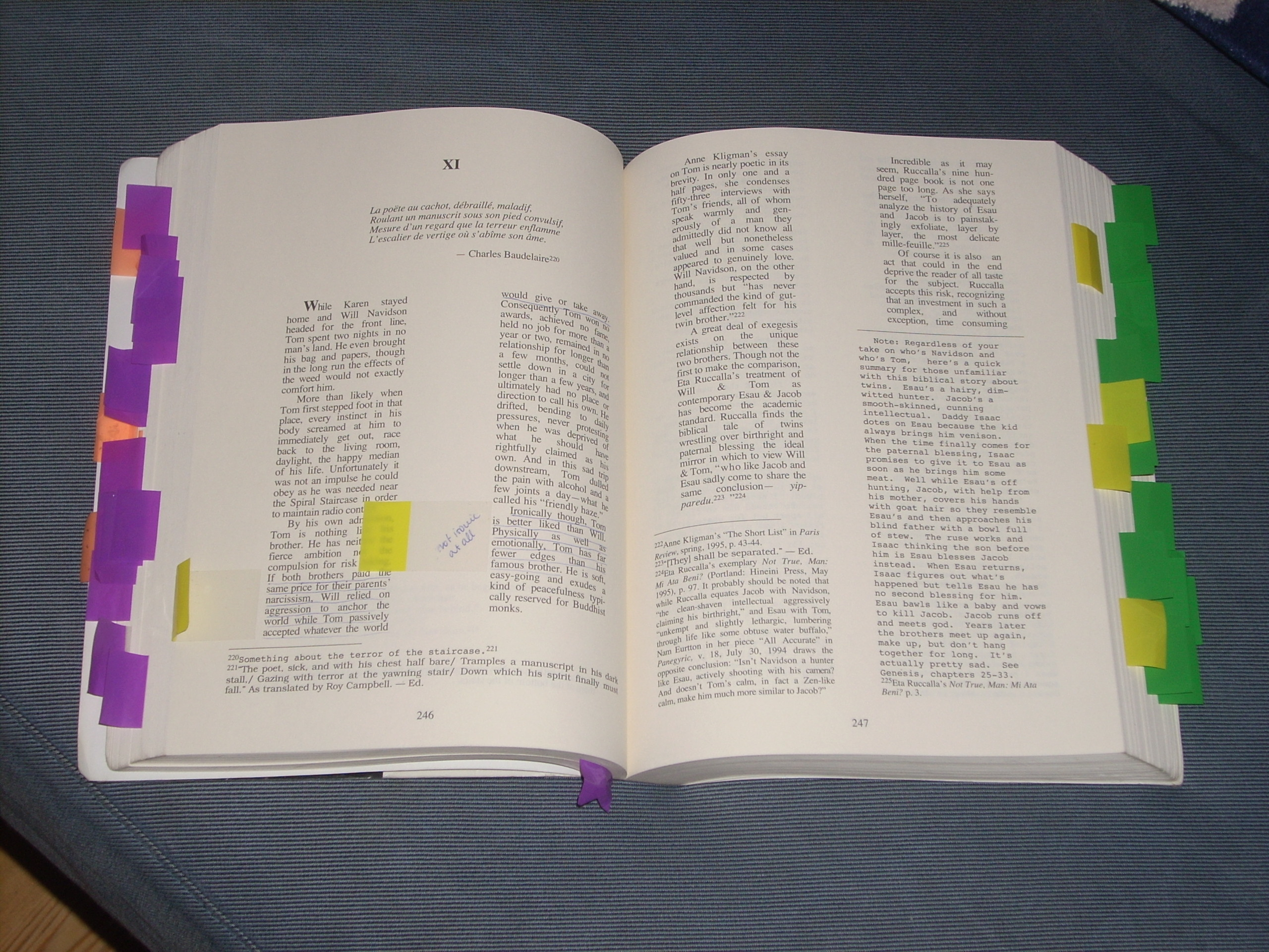 re the picture of dorian gray oscar wilde s stuff now for dorian gray not one index marker why well i figured that i would have to mark the pages where i didn t underline anything and that even for me