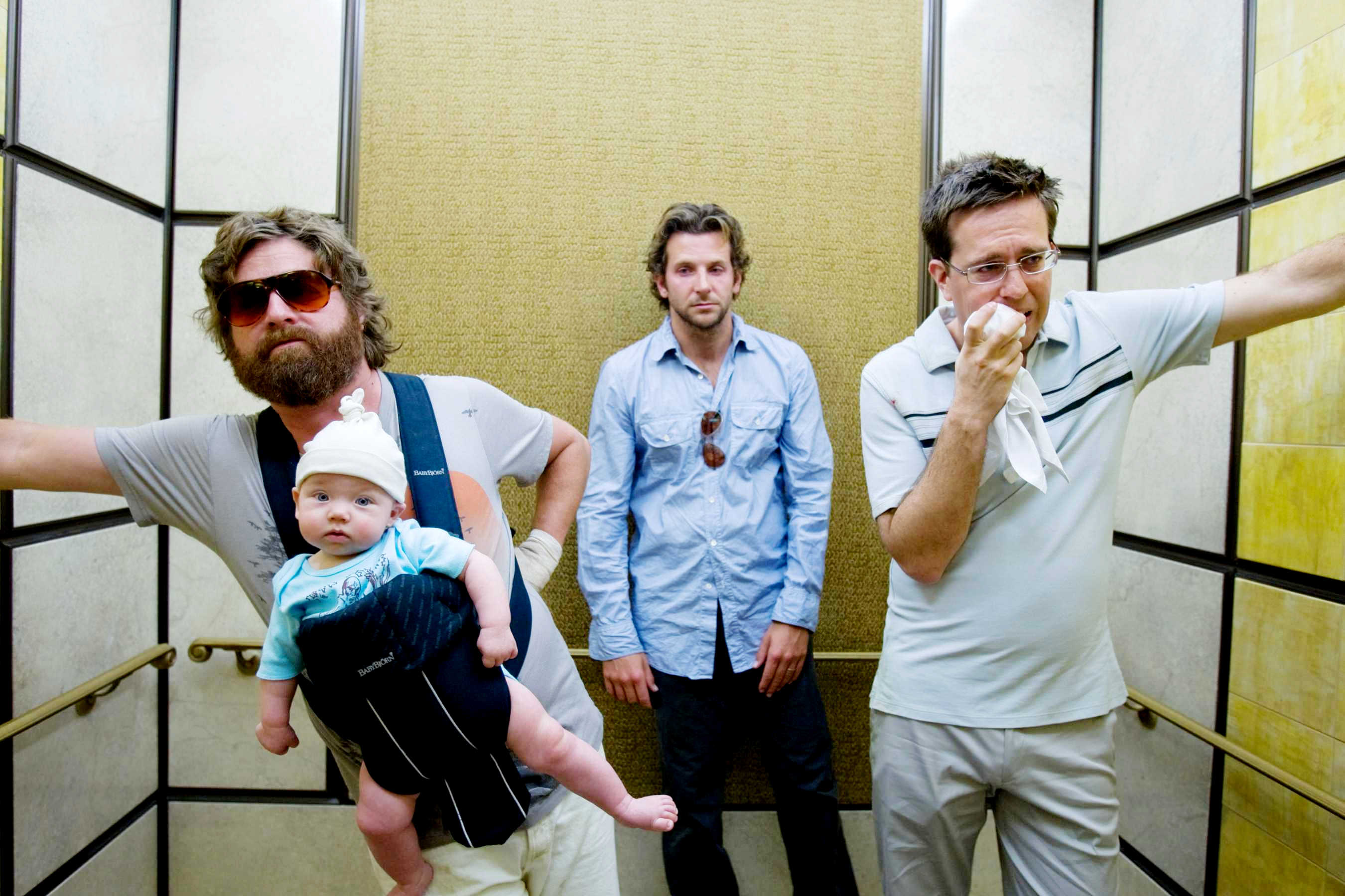 the hangover movie elevator shot