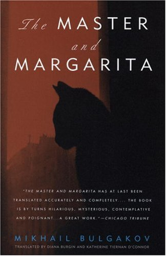 The book cover showing the shadowy profile of a cat.