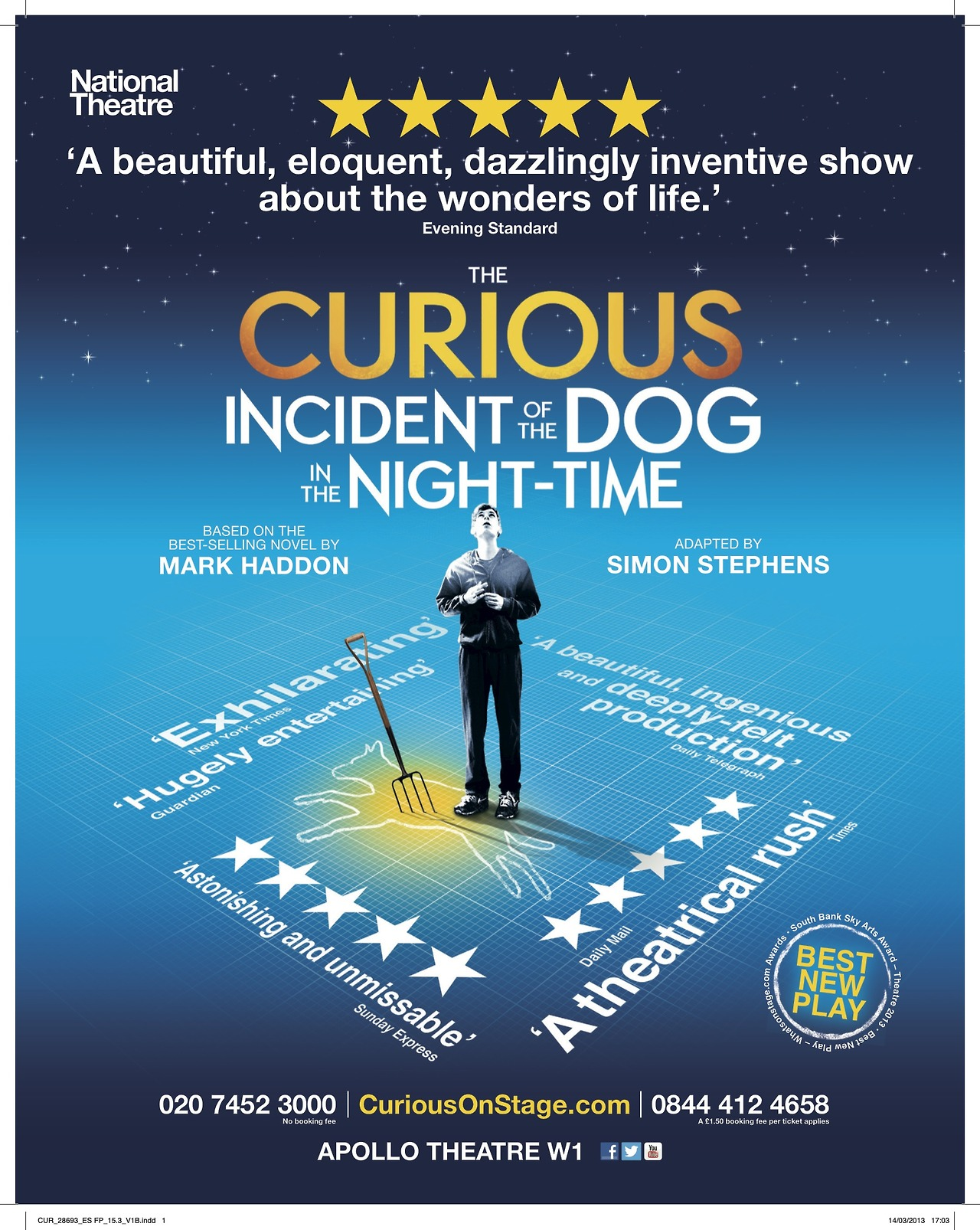 "curious dog There are many curious things about mark haddon's book, ""the curious incident of the dog in the night-time, "" besides the title foremost, perhaps, is the author starting in 1987, haddon, a harvard graduate, wrote and illustrated mostly children's books."