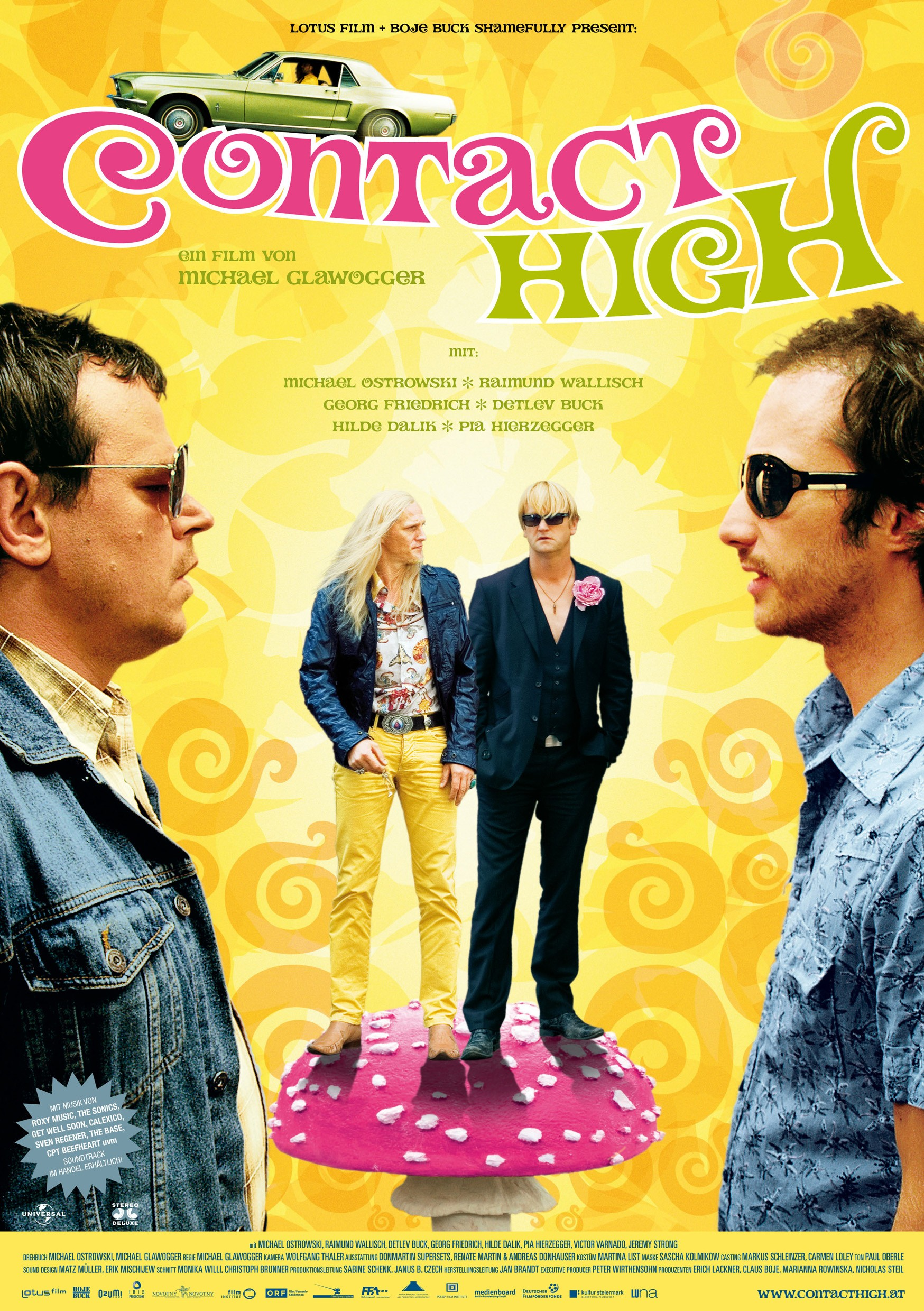 Where Nacktschnecken was a bit of a stoner comedy, Contact High is completely there, which is not the development I personally would have hoped for.