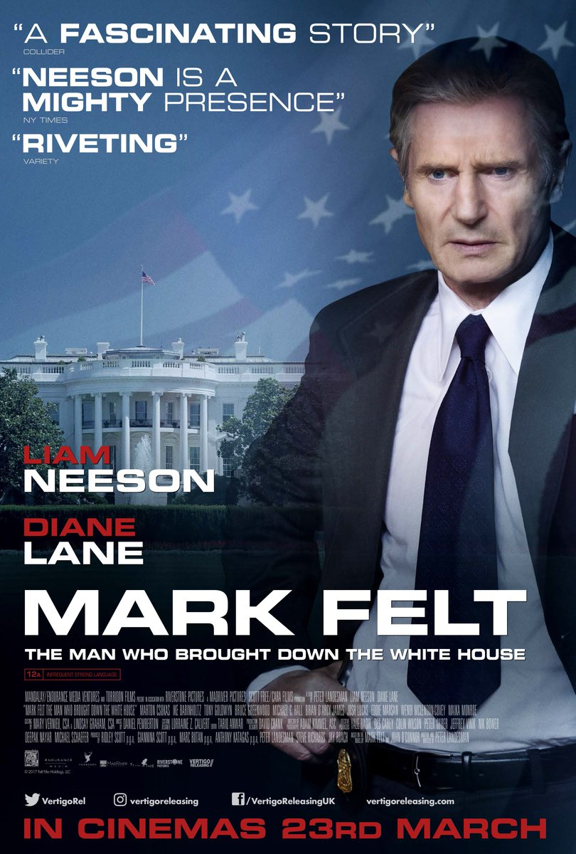Mark Felt: The Man Who Brought Down the White House (2017