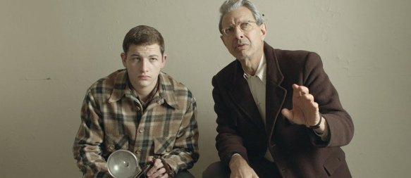 Tye Sheridan and Jeff Goldblum in the film.