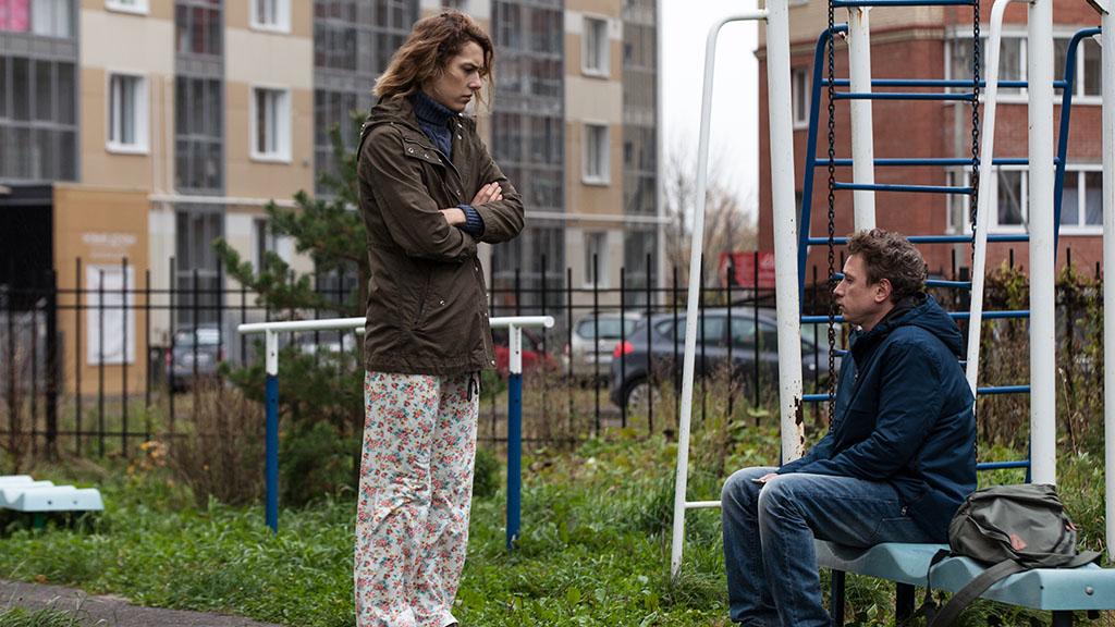 Irina Gorbachova and Aleksandr Yatsenko in the film.