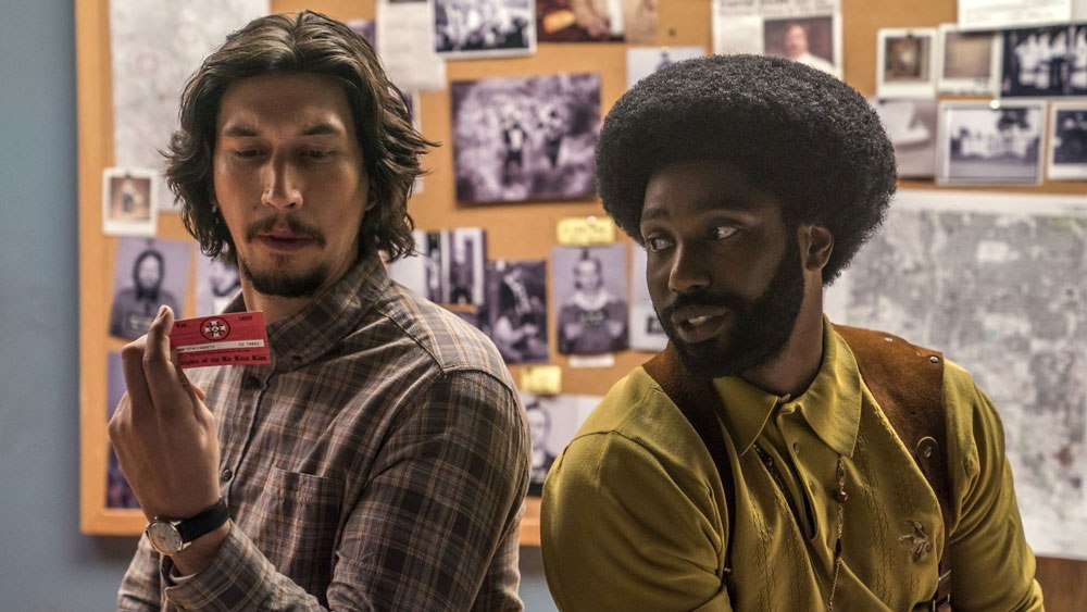 Adam Driver and John David Washington in the film.
