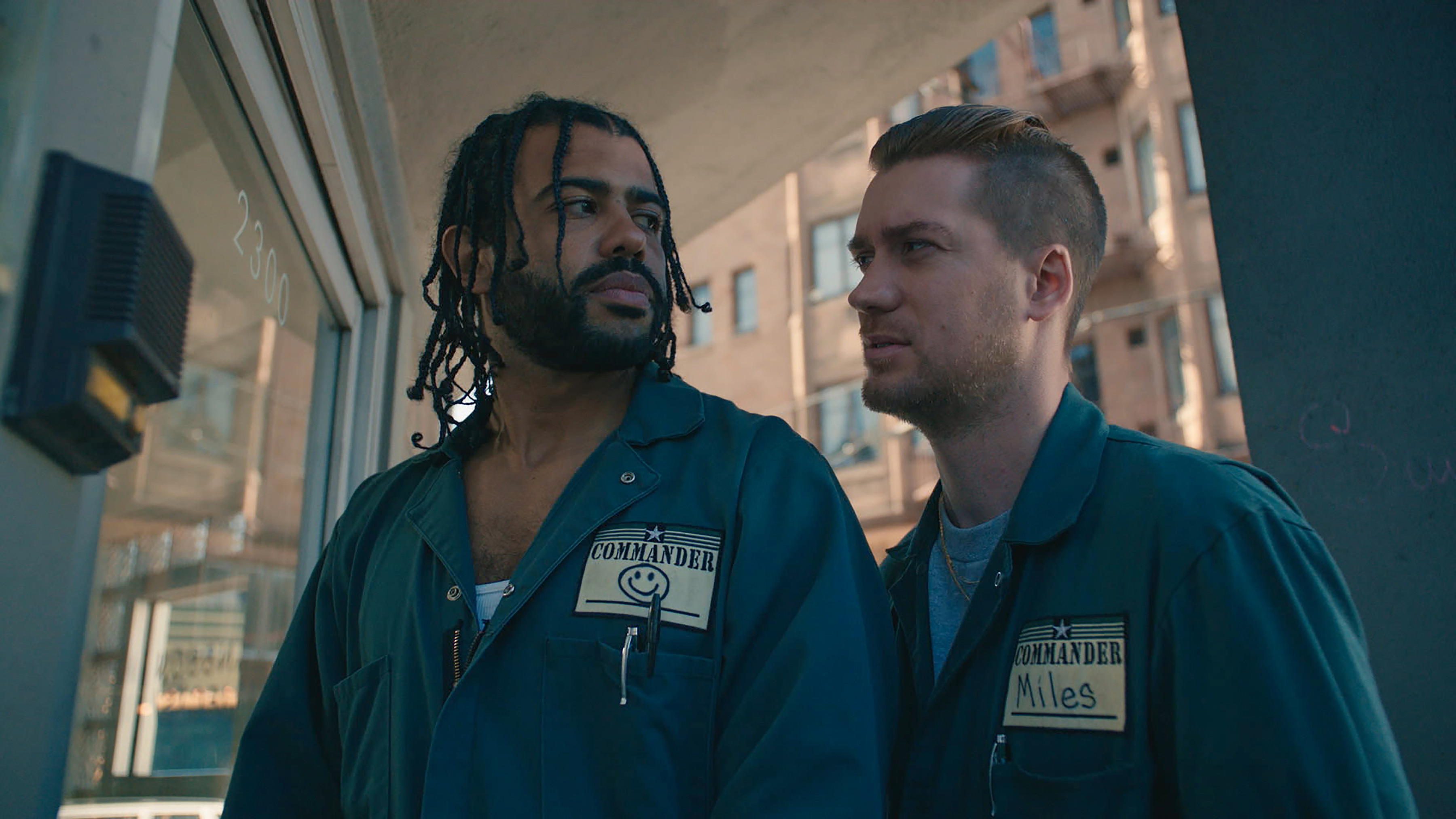 Daveed Diggs and Rafael Casal in the film.