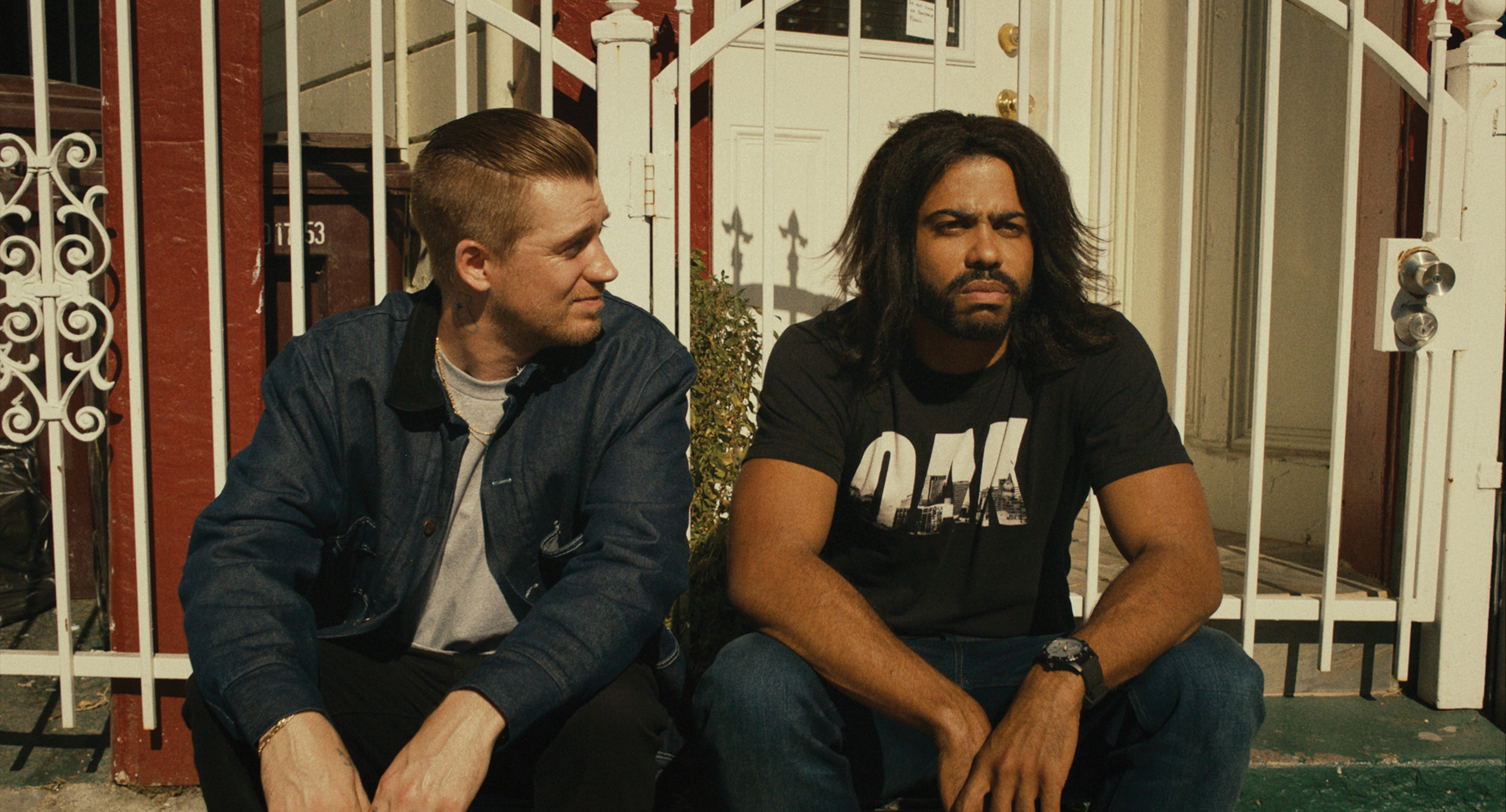 Rafael Casal and Daveed Diggs in the film.