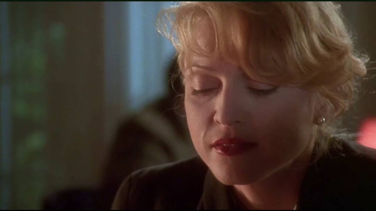 Madonna in the film.