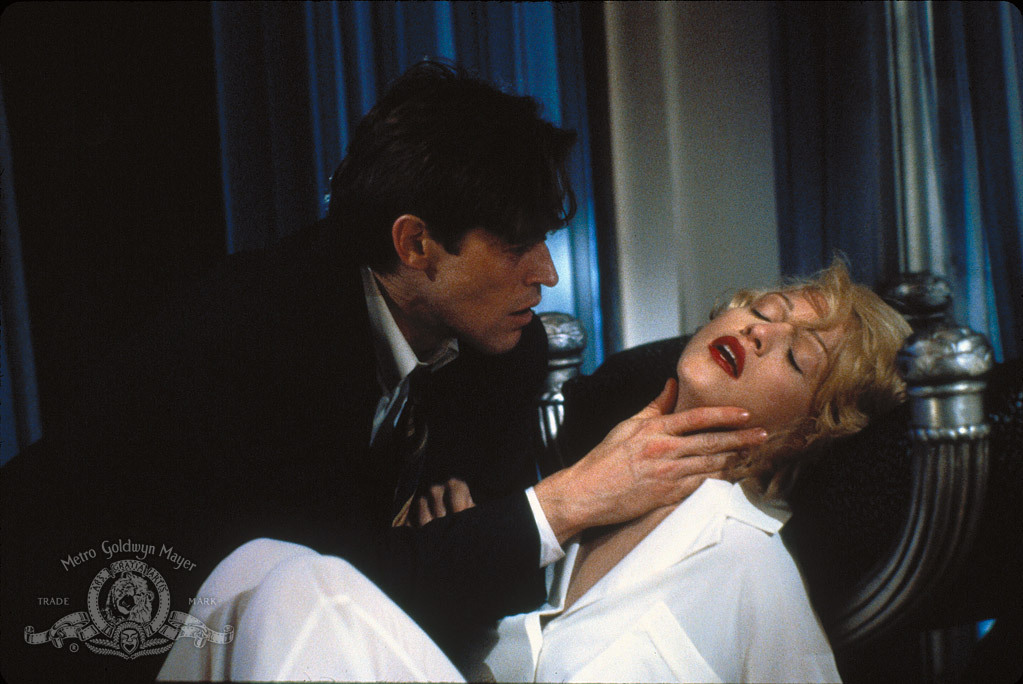Willem Dafoe and Madonna in the film.