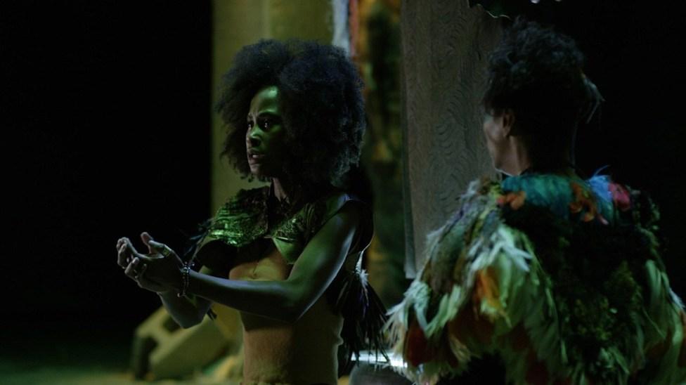 Mouna Traoré in the film.