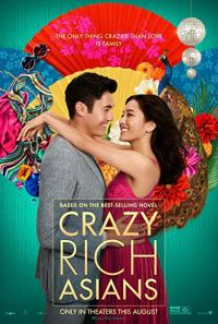 The film poster showing Henry Golding and Constance Wu.