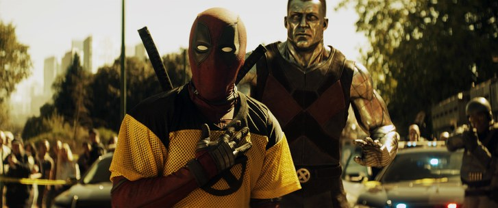 Ryan Reynolds as Deadpool and Colossus, voiced by Stefan Kapicic.