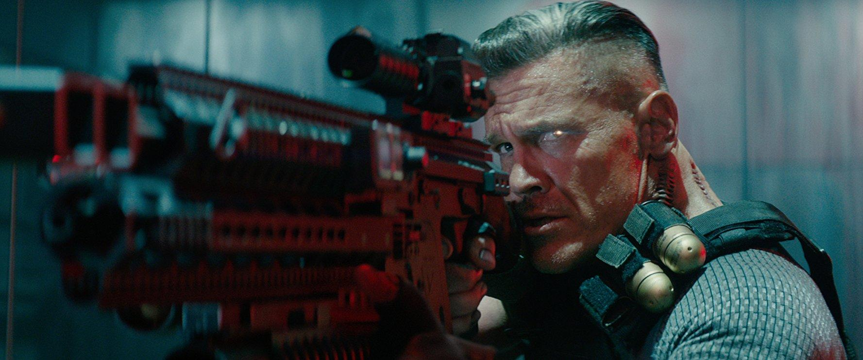 Josh Brolin as Cable.