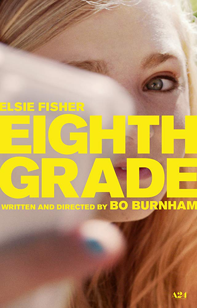 The film poster showing Elsie Fisher as she takes a selfie.