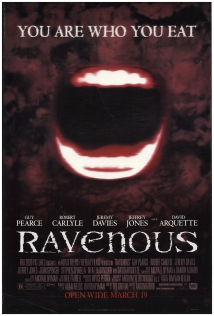 The film poster showing an opened mouth.