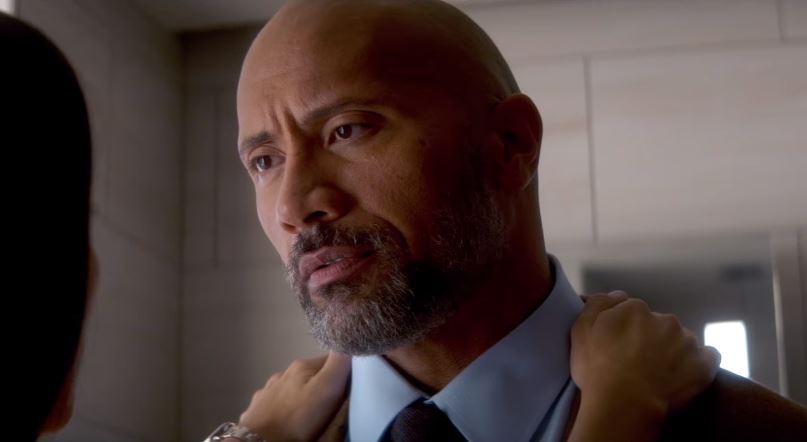 Dwayne Johnson in the film.