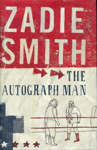The book cover showing a drawing of two men in a wrestling ring.
