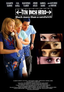 The film poster showing Elisabeth Harnois, Clea DuVall and Jensen Ackles.