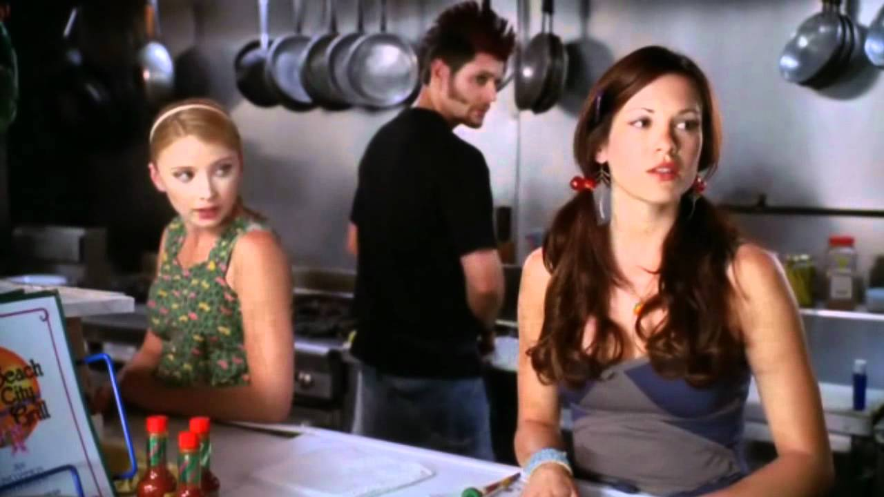 Elisabeth Harnois, Jensen Ackles and Danneel Ackles in the film.