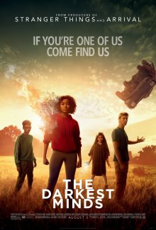 The film poster showing Skylan Brooks, Amandla Stenberg, Miya Cech and Harris Dickinson in the film.
