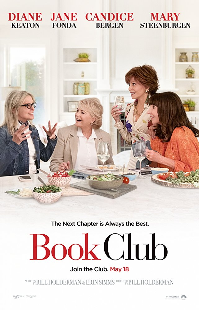 The film poster showing  DIane Keaton, Candice Bergen, Jane Fonda and Mary Steenburgen around a table.