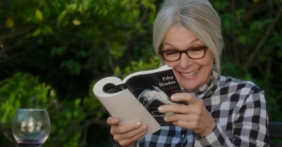 Diane Keaton in the film.