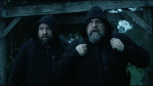 Shane and Clayton Jacobson in the film.