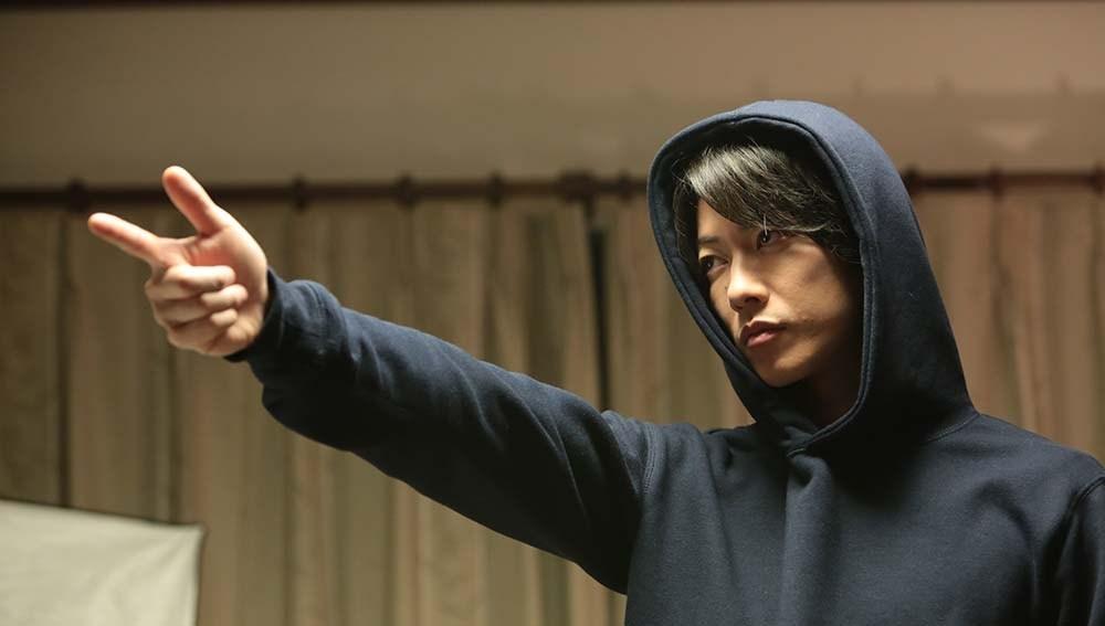 Takeru Satoh in the film.