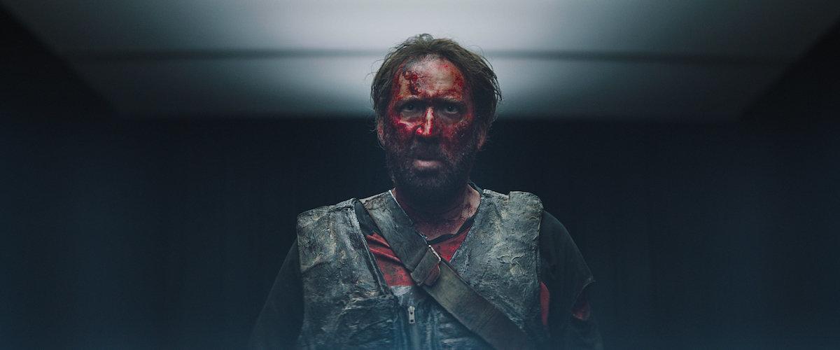 Nicolas Cage in the film.
