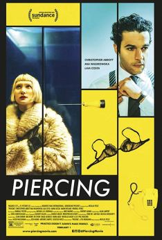 The film poster showing Mia Wasikowska and Christopher Abbott.