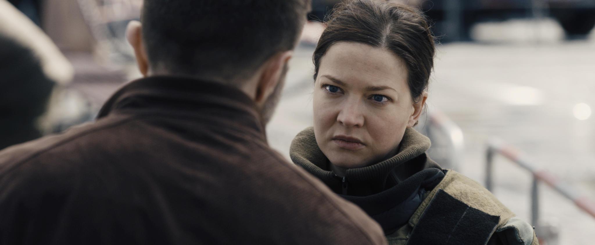 Hannah Herzsprung in the film.