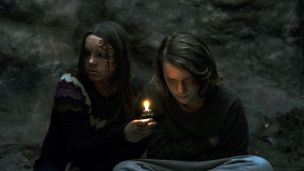 Nadia Alexander and Toby Nichols in the film.