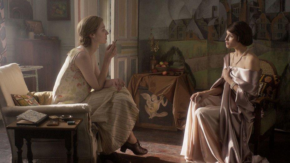 Elizabeth Debicki and Gemma Arterton in the film.