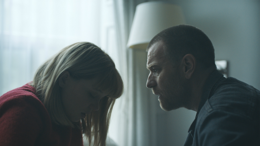 Léa Seydoux and Ewan McGregor in the film.