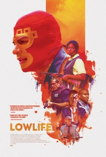 The film poster showing the main characters of the film.