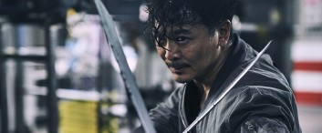 Yue Wu in the film.