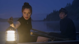 Hannah Emily Anderson and Brittany Allen in the film.