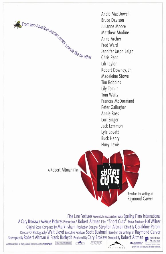 The film poster showing a fractured red heart in front of a white background.