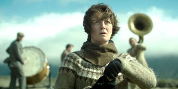 Halldóra Geirharðsdóttir in the film.