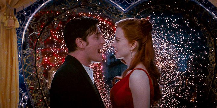 Ewan McGregor and Nicole Kidman in the film.