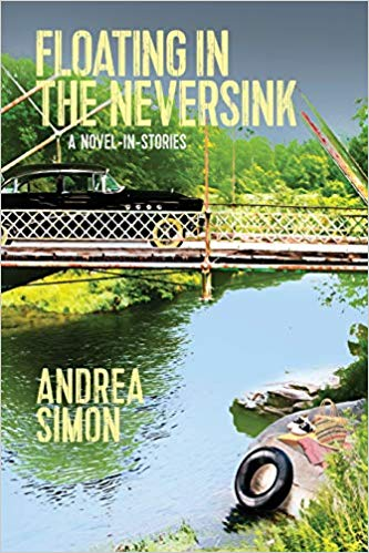 The book cover showing a bridge over a river with a black old-time driving over it.