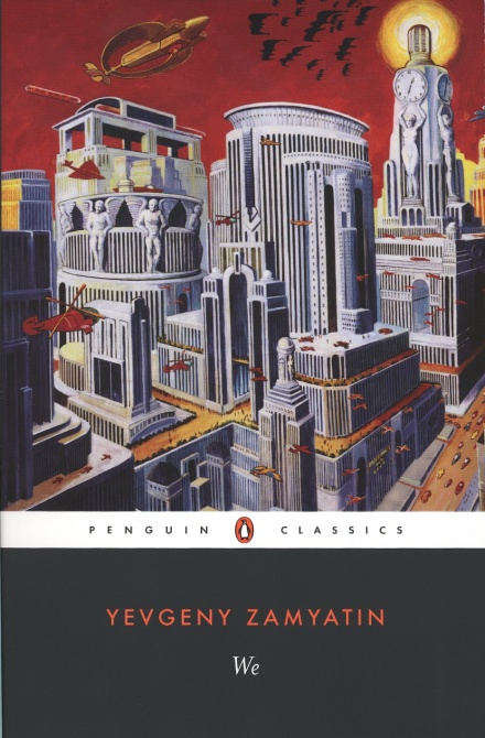 The book cover featuring an image of a futuristic city as imagined in the 1920s.