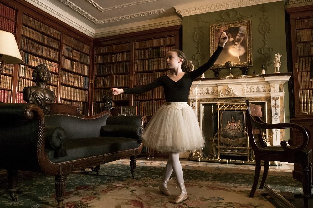 Josephine Leonidas (Honor Kneafsey) dancing ballet.