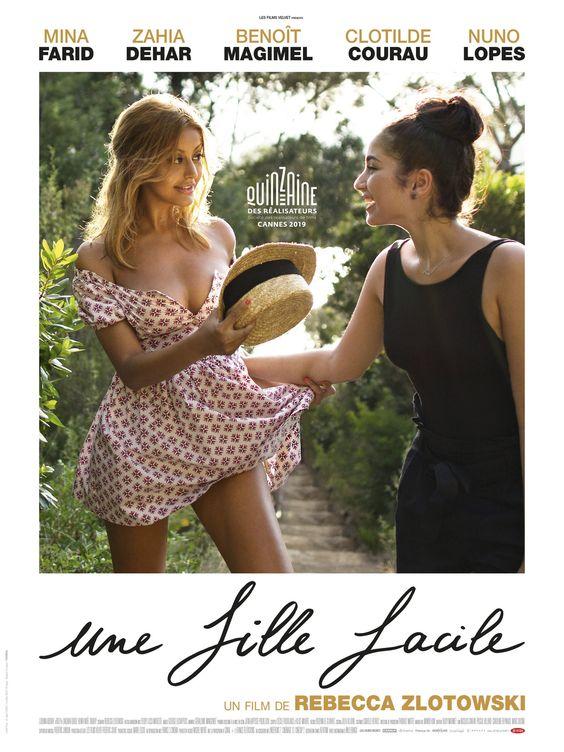 The film poster showing Sofia (Zahia Dehar) and Naïma (Mina Farid) walking together.