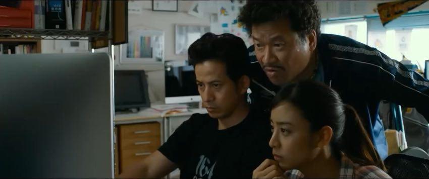 The Fable (Jun'ichi Okada) hard at work at the marketing company.
