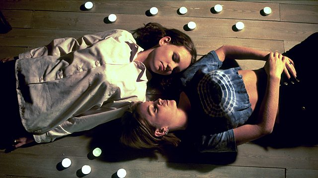 Lizzie (Heather Ann Foster) and her friend Kerrie (Nicola Stapleton) lying on the floor.