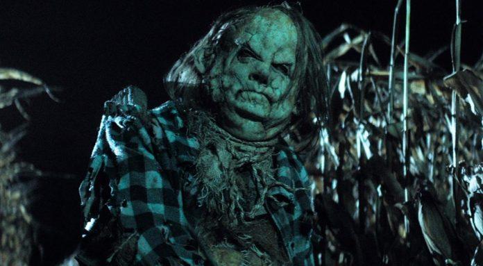 A scarecrow come to life.