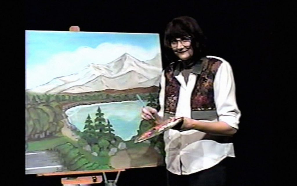 Painting with Joan (Kerri Kenney).