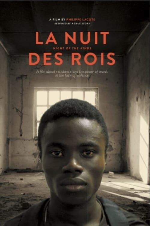 The film poster showing Roman (Bakary Koné) in front of an empty prison cell.