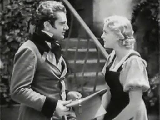 Franz Schubert (Hans Jaray) talking to Emmi (Luise Ullrich).